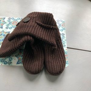 Ugg Sweater Boots-brown-Women's Size 4